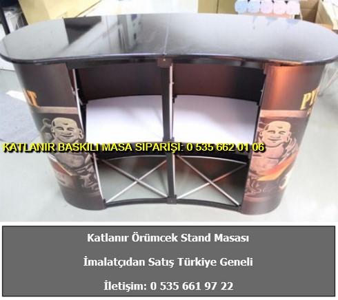 örümcek katlanabilir stand masası örümcek baskılı fiyat