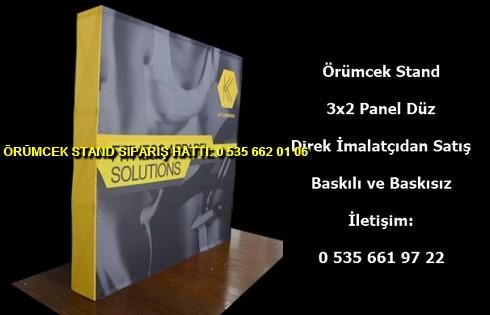 katlanır 3×2 panel örümcek stand imalatı kumaş tekstil fiyat