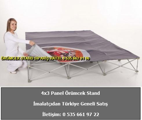 katlanır 4 panel düz örümcek stand modüler kurulum baskılı fiyat