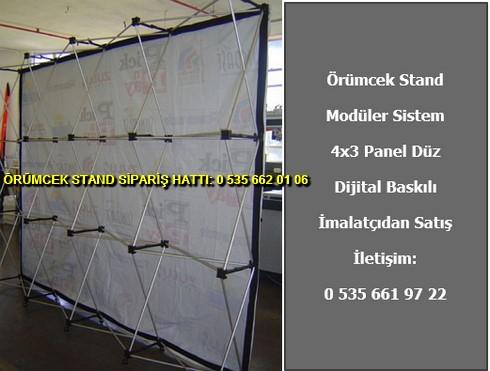 katlanır 4×3 panel düz modüler örümcek stand fiyat
