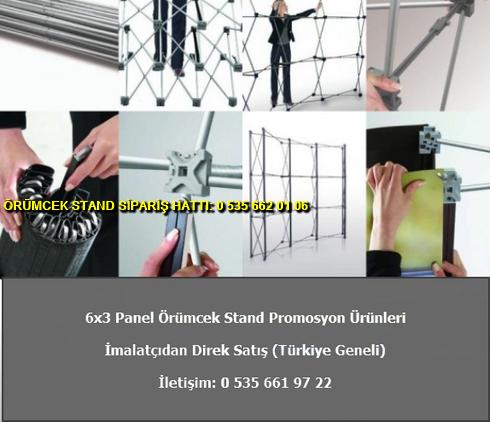 katlanır 6 panel düz örümcek stand imalat baskılı fiyat