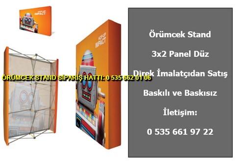 katlanır katlanır örümcek stand 3×2 panel düz baskılı fiyat